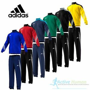 the sale of shoes fashion style size 40 Détails sur Garçons Survêtement Adidas Junior Enfants Zip complet Football  Haut Pantalon 5-6 ans XS- afficher le titre d'origine