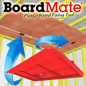 BoardMate - Drywall Fitting Tool, Supports The Board In Place While Installing 5391744787230