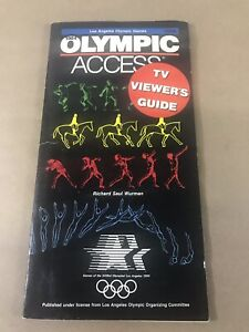 1984-Los-Angeles-Olympic-Games-Olympic-Access-TV-Viewers-Guide-Booklet-H6