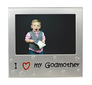 I Love My Godmother Photo Picture Frame Gift 5 X 35 Ebay