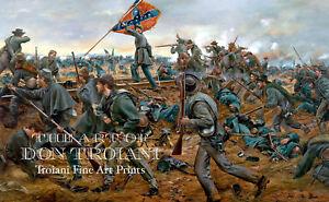 034-Onward-Georgians-034-Don-Troiani-Civil-War-Battle-of-Fredericksburg-Print