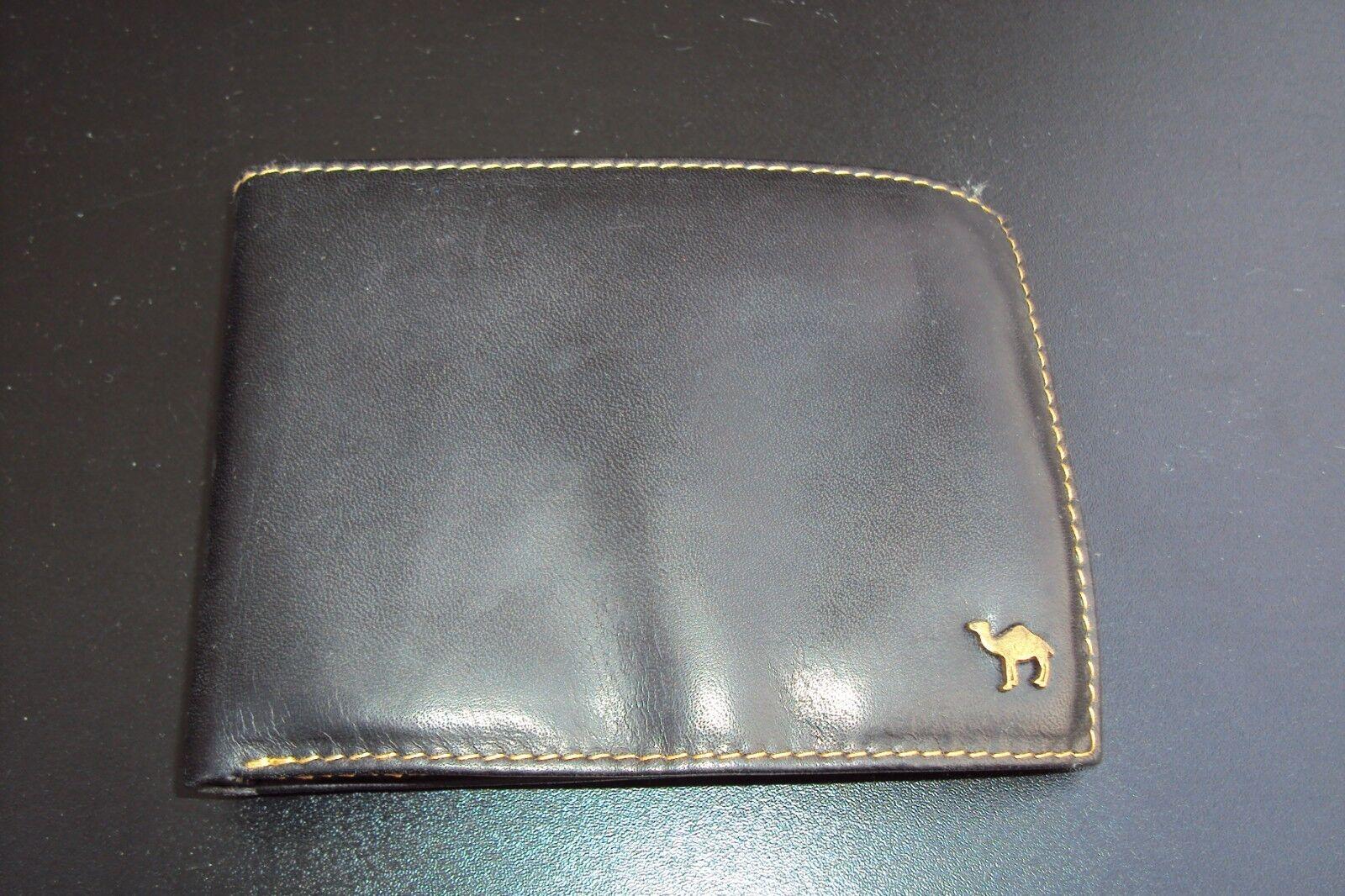 Camel Travel Bags Portemonnaie schwarz black Geldbörse NEU