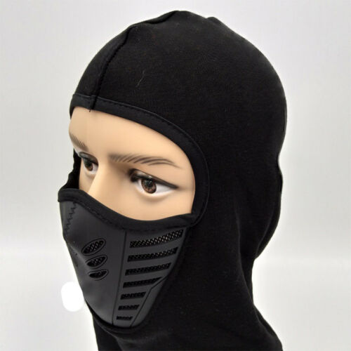 Windproof Motorcycle Balaclava Motorbike Helmet Bike Face Mask Scarf Thermal UK