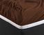 Spannbettlaken Spannbetttuch Topper Baumwolle Jersey 135 gr Steg-Höhe 15-30 cm