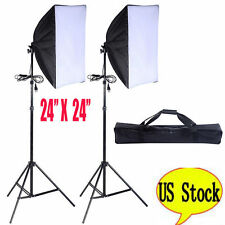 2PCS Lighting Softbox Photography Photo Equipment Soft Studio Light Photo Kit MS