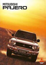 Mitsubishi Pajero 07 / 1999 catalogue brochure Poland