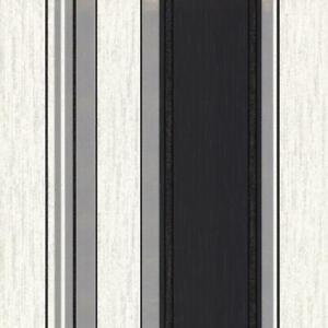 Crown-Synergy-Glitter-Stripes-Wallpaper-White-Black-Silver-Metallic-Luxury-Vinyl