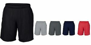 Gildan Performance Mens Athletic Running Yoga Gym Top Sports Activewear Shorts