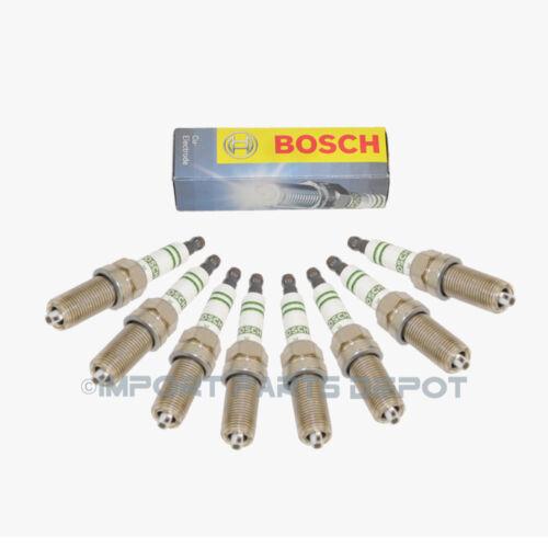 8pcs Spark Plugs Plug Set Super Porsche 911 Boxster Cayman Panamera Bosch OEM