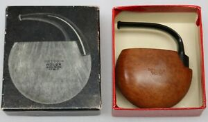 Nice-Vintage-Brebbia-Rolex-Bruvere-Italy-Folded-Vest-Pocket-Pipe-With-Box
