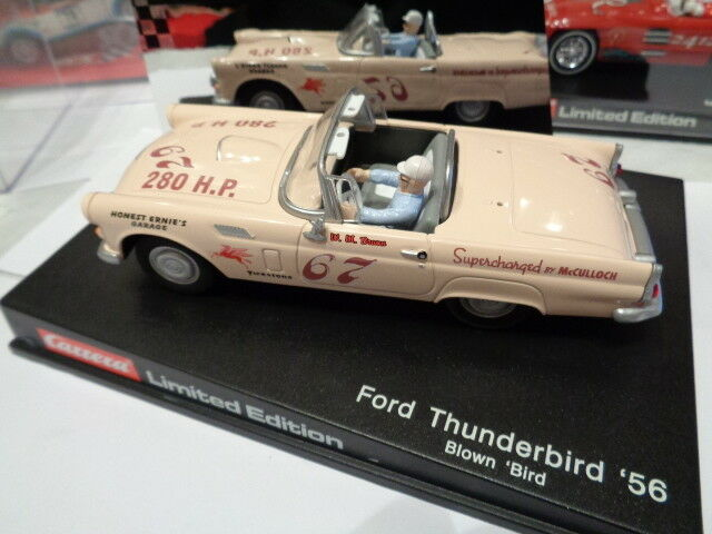 Carrera 25481 25481 25481 Blown Bird Ford Thunderbird 56 Limited Ed Scalextric Compatible ad0cff