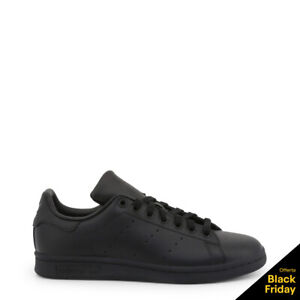 SCARPE-ADIDAS-STAN-SMITH-M20327-StanSmith-NERO-BLACK-UNISEX-M20327-SNEAKERS