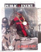 """NEW SEALED Mezco PUBLIC ENEMY Rapper FLAVOR FLAV 9"""" Hip Hop Action Figure"""