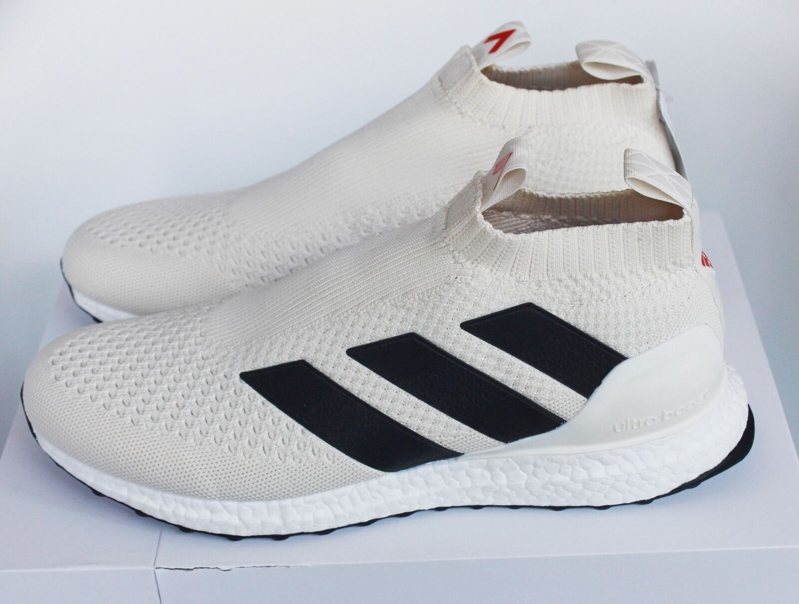 Adidas Ace 16+ Purecontrol Ultra Boost Champagne Cream BY9091 New