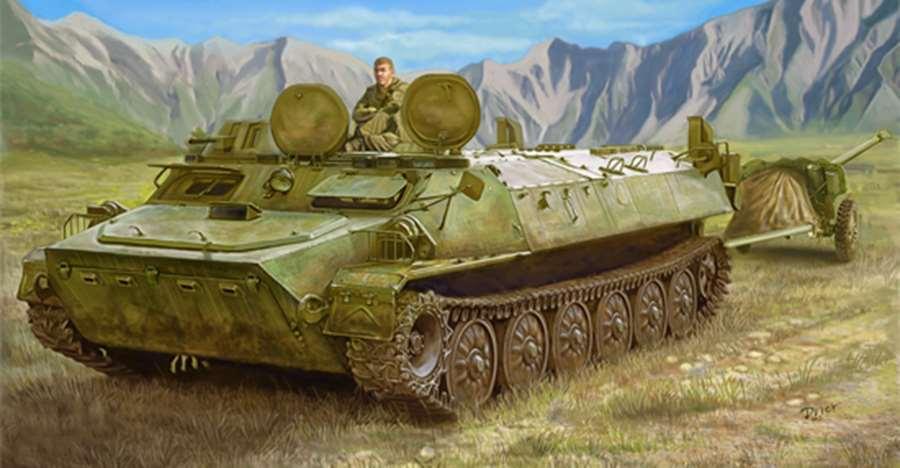Obtén lo ultimo Trumpeter KIT hágalo usted mismo mismo mismo Soviético Mt-lb tanque blindado de transporte coche 05578 modelo de escala 1 35  gran selección y entrega rápida