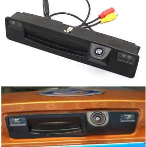 Auto-Rueckfahrkamera-Griffleisten-Einpark-Kamera-CCD-fuer-Ford-Focus-2015-2018-HD