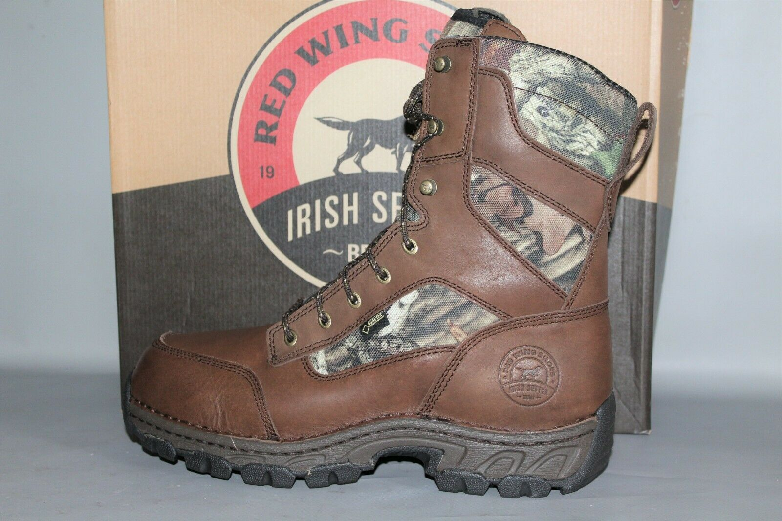 NEW Men's Red Wing Irish Setter  840 Havoc 9  Insulated Waterproof Hunting Boot
