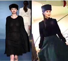 Lady's Multi-variab Cossack Hat Real Persian Astrakhan Karakul Lamb Fur l.sable