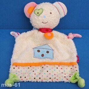 Spielzeug Unter Der Voraussetzung Fehn Maus Schmusetuch Frottee Kuscheltuch Mouse 28 Cm Taille Und Sehnen StäRken