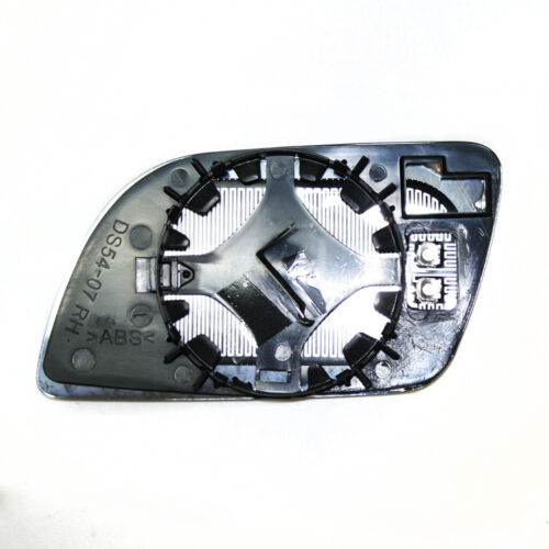 RHS Wing Mirror Heated Glass Silver For VW Volkswagen Polo 2002-05