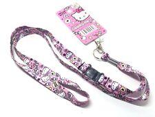 Hello Kitty Key Chain Lanyard Neck Strap Key Holder Key Ring Sanrio Kawaii DAISO