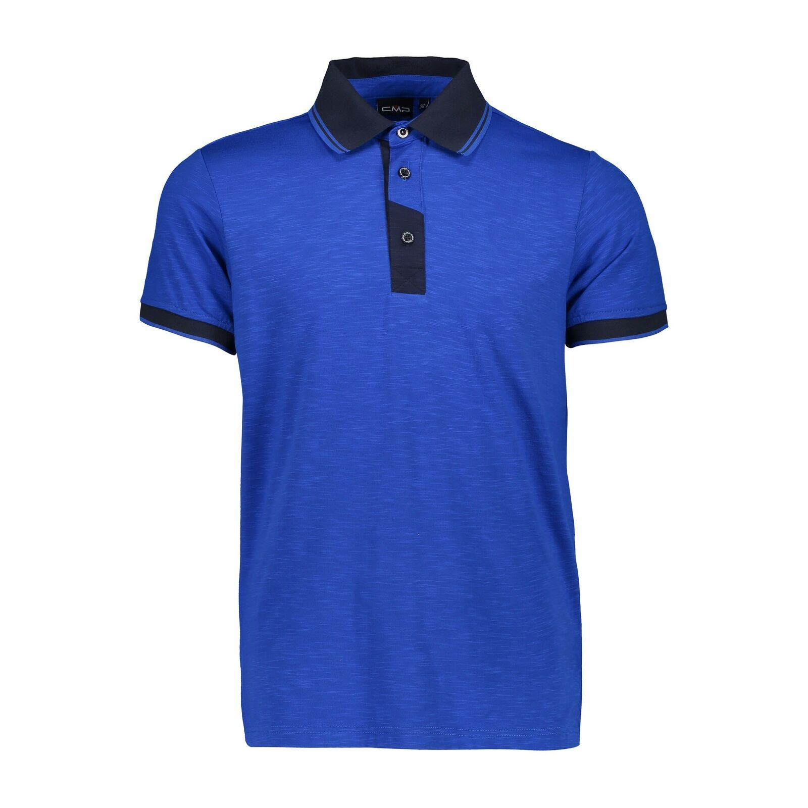 CMP Polo Shirt Shirt One Polo blue Breathable Elastic Antibacterial  Stretch  up to 42% off