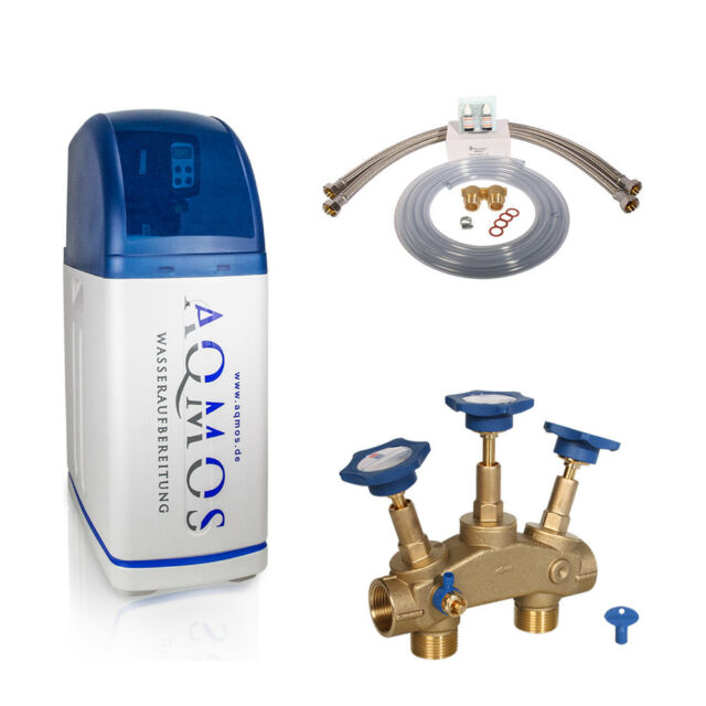 Wasserenthärtungsanlage Entkalkungsanlage Aqmos R2D2-32 Wasserenthärter