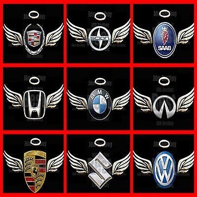 3D GOLD Angel Wings Decal Sticker Car Emblem JDM Logo | eBay