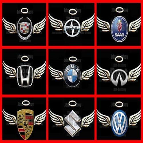 3d Gold Angel Wings Decal Sticker Car Emblem Jdm Logo Ebay