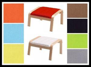 Nach Maß Abdeckung Passend Für Ikea Poang Fußbank Bezug Poang