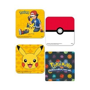 gb eye ltd pokemon mix coaster pack various pokemon set mix