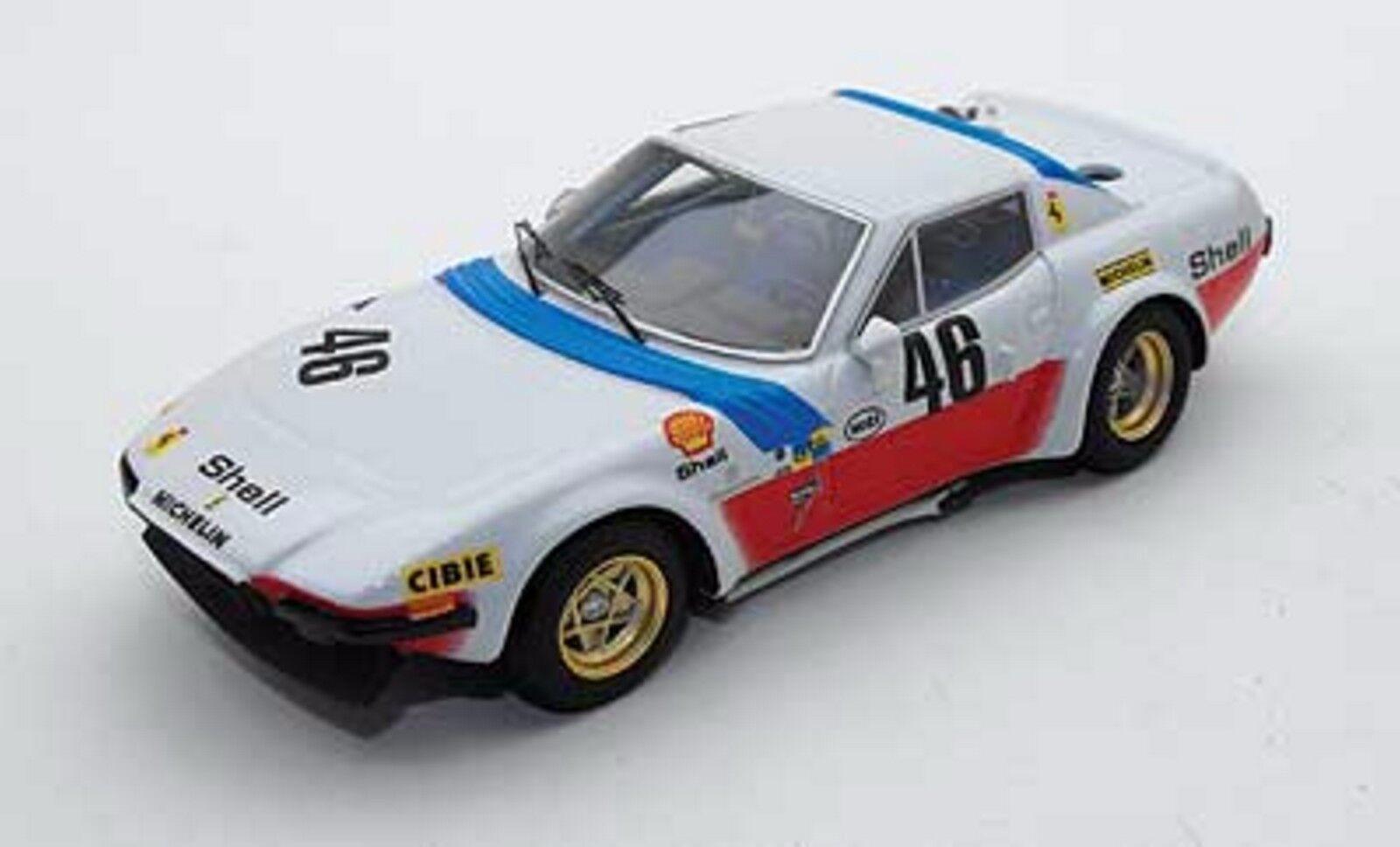 +kit Ferrari 365 GTB 4 Michelotti NART Le Mans 1975 - Tron Models kit 1 43