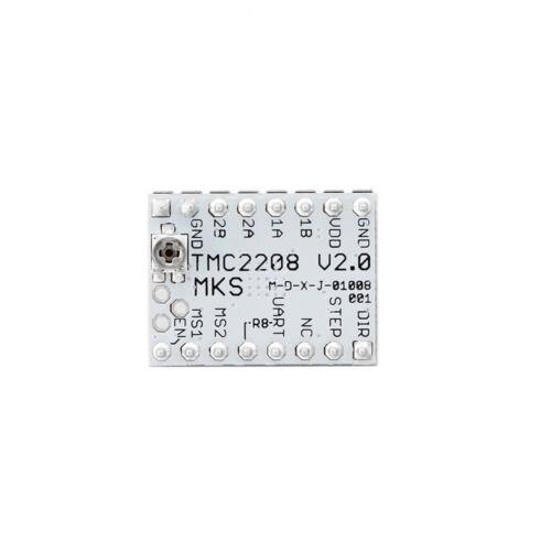 MKS TMC2208 V2.0 Stepper Motor Driver Board+Heat Sink Parts Kit for 3D Printer