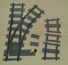 LEGO® City Eisenbahn flexible Weiche rechts  7895 7499 7996         bricktrain