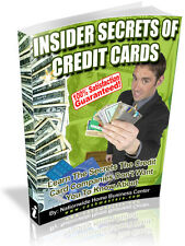 INSIDER SECRETS OF CREDIT CARDS PDF EBOOK FREE SHIPPING RESALE RIGHTS