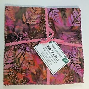 Hoffman-Fabrics-Bali-Crackers-Wild-Berry-Later-Cake-4010-034-X10-034-Handmade-BC-405