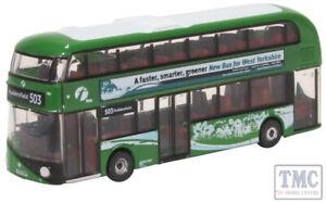 BNIB N GAUGE OXFORD 1:148 NNR007 New Routemaster First West Yorkshire Bus