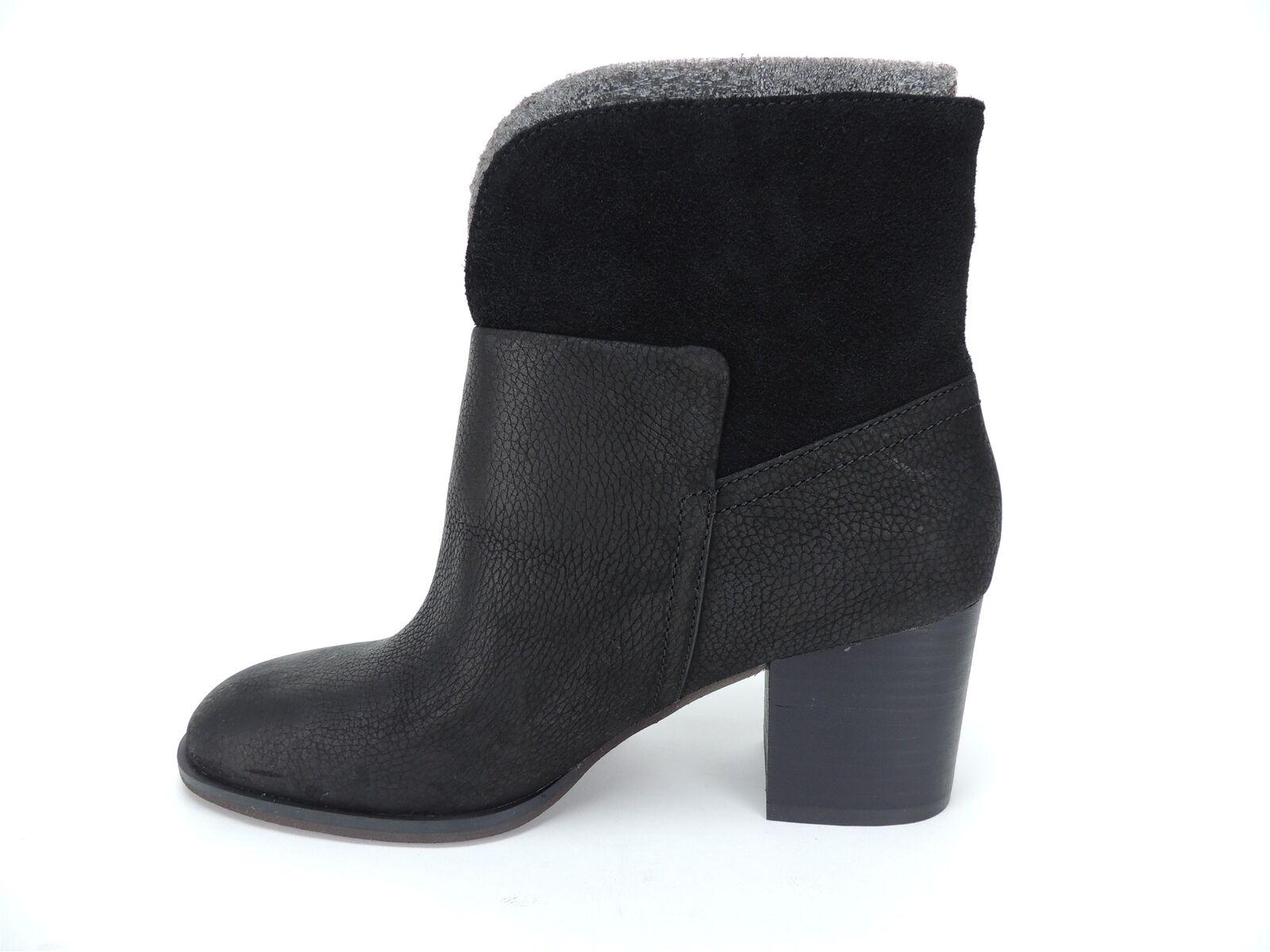 Nine West Women's Dale Block-Heel Booties Booties Booties Black Ankle Boots Size 6.5 M 19f3aa