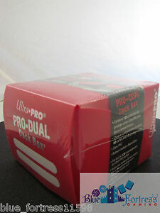 Details about RED SMALL ULTRA PRO PRO-DUAL DECK BOX MTG WoW POKEMON YUGIOH  HOLDS 120 CARDS