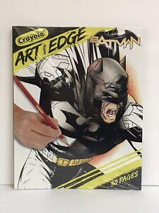 Crayola Art With Edge Batman Collection Coloring Book - 30 ...
