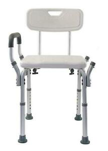 Essential Medical Supply Adjustable Molded Shower Chair