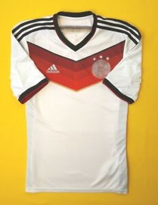 a78fe4ca053 4 5 Germany soccer jersey small 2014 shirt World Cup G87445 football ...