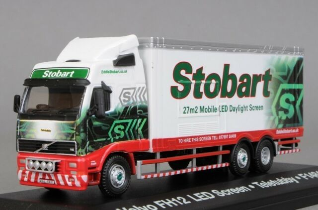 Atlas Editions Eddie Stobart VOLVO FH 12 LED Screen Boxed 1 76