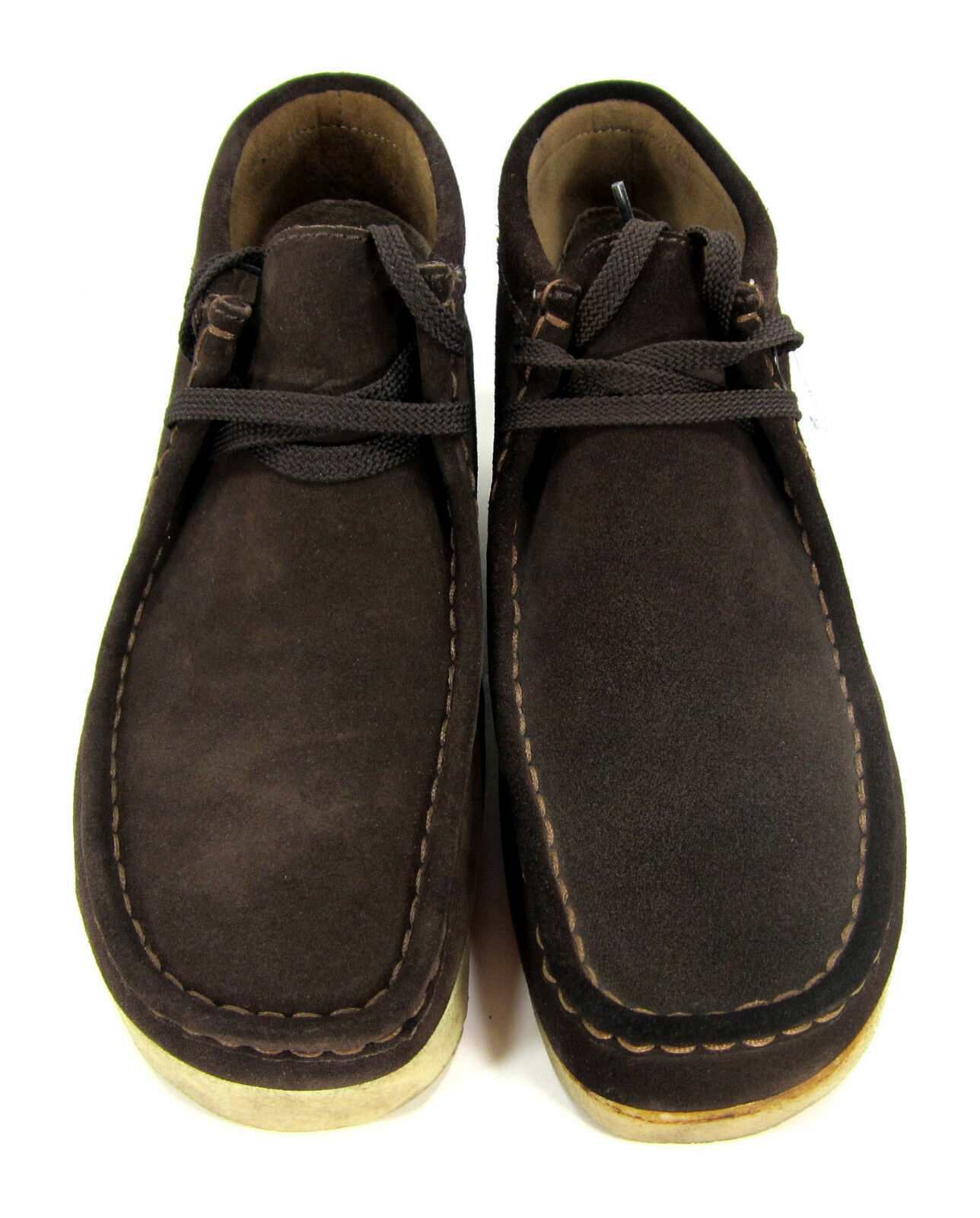 Clarks scarpe Padmore Wallabee Suede Classic Marrone stivali stivali stivali Dimensione 8 889577