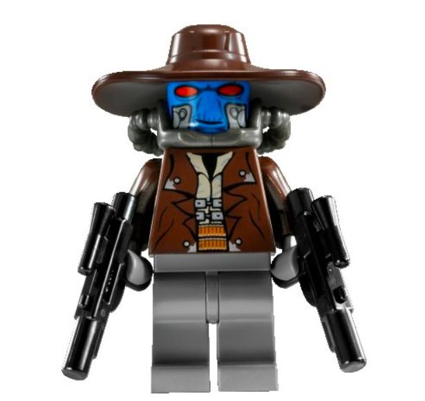 Lego Star Wars Clone Wars Cad Bane & X2 Blaster 8098 8128 NEU selten