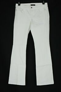 NWOT-White-House-Black-Market-Size-6R-Mid-Rise-Womens-Bootcut-Jeans-White-NEW