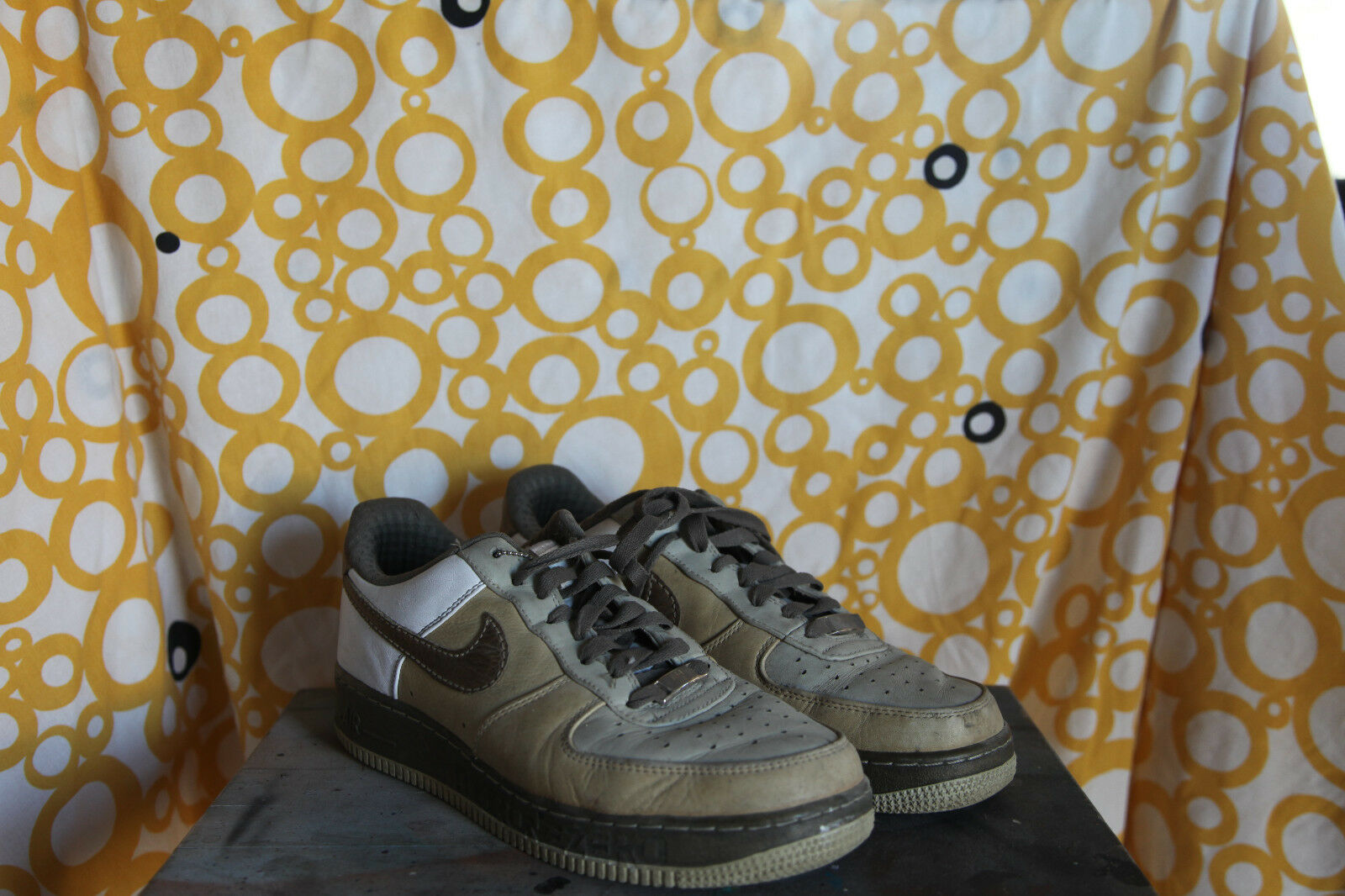 Nike AF1 82 Low Premium Tweed/Olive/White Sz US 8,5