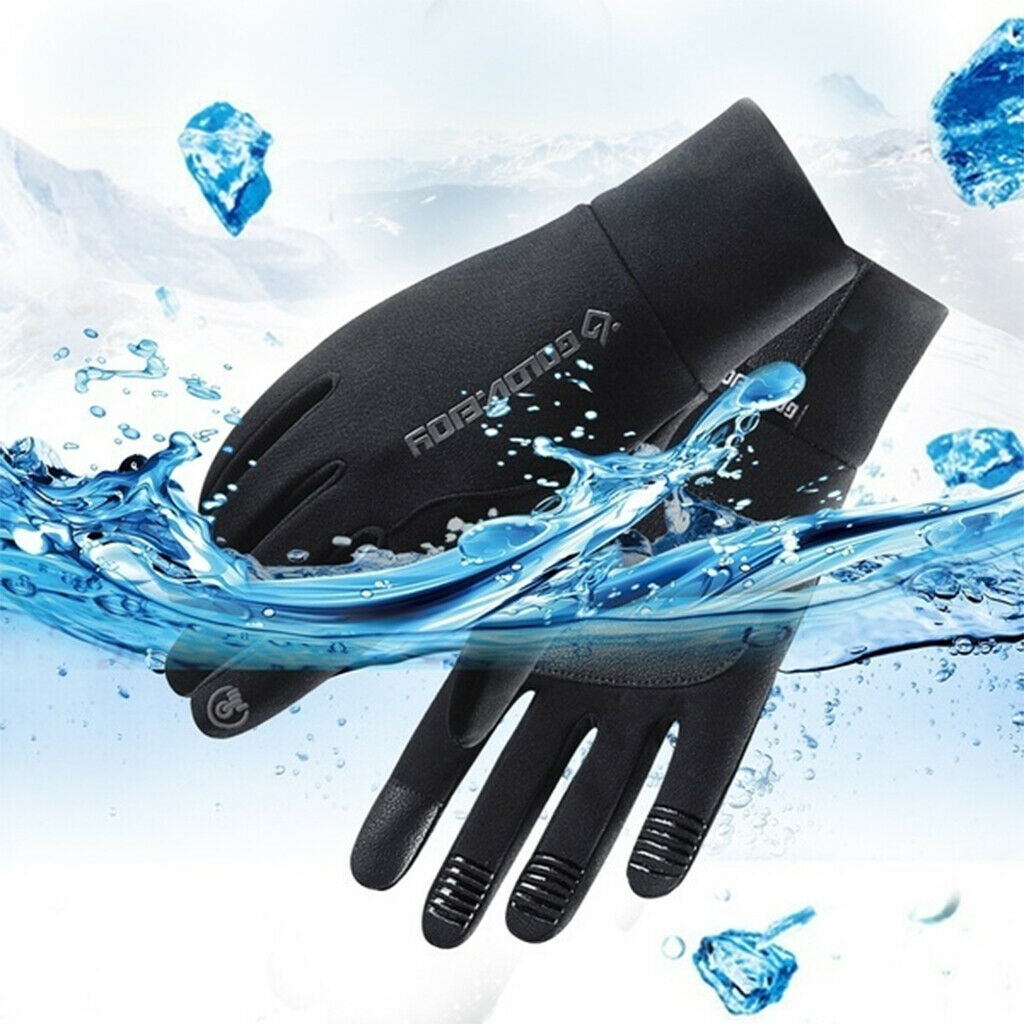 Cycling Gloves Touchscreen Gloves Windproof Wear Resistant for Biking Snow