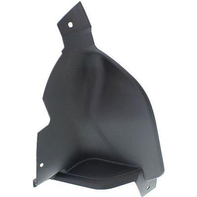 CPP Black and chrome Driver Side Fog Light Trim for 11-14 Chrysler 300 CH1038126