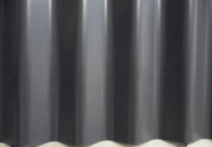 Sonderposten 0,50mm Wellblech RAL 9007 graualuminium 25µm Polyesterbeschichtung